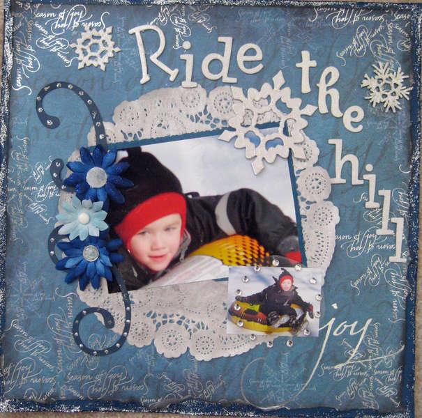 Ride The Hill   **Swirlydoos Jan Kit**