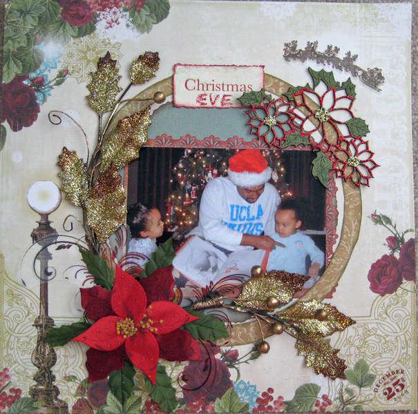 **Swirlydoos Dec kit** Christmas Eve
