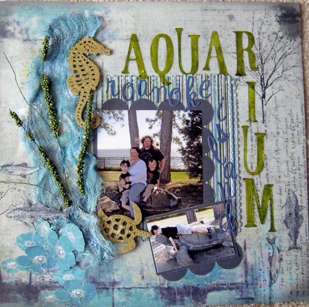 Aquarium at Roanoke Island
