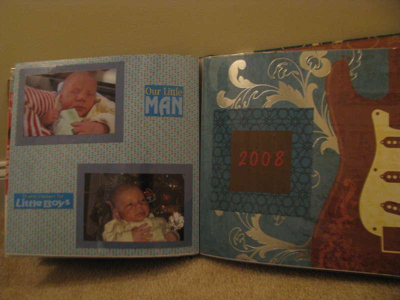 Rock Star Baby Book for Jasper