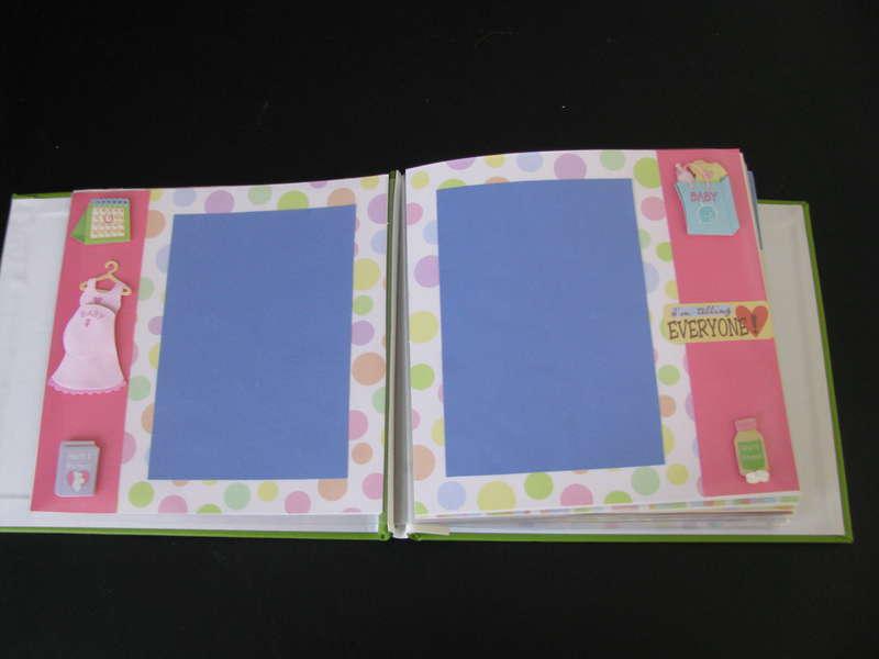 Baby Girl Scrapbook