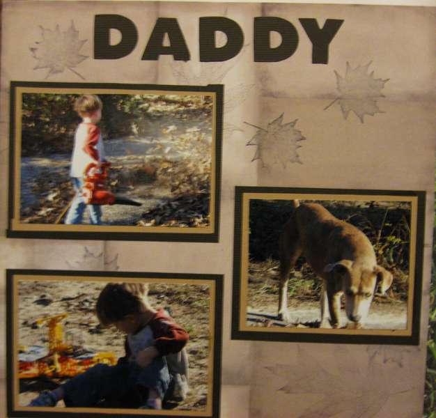 Helping Daddy...2008  pg2