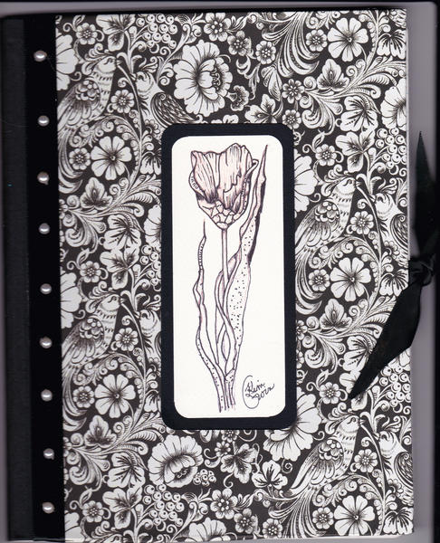 Journal with my artwork on front