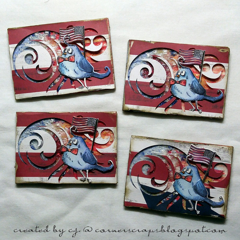 Red, White, & Blue ATC