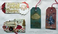 Christmas Tag Set #2