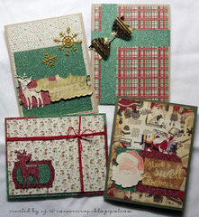 Set of Christmas Cards!