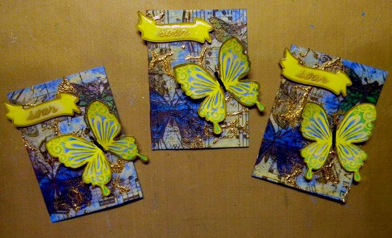 """April ATC - Butterfly - """"Soar"""""""