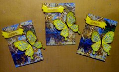 "April ATC - Butterfly - ""Soar"""
