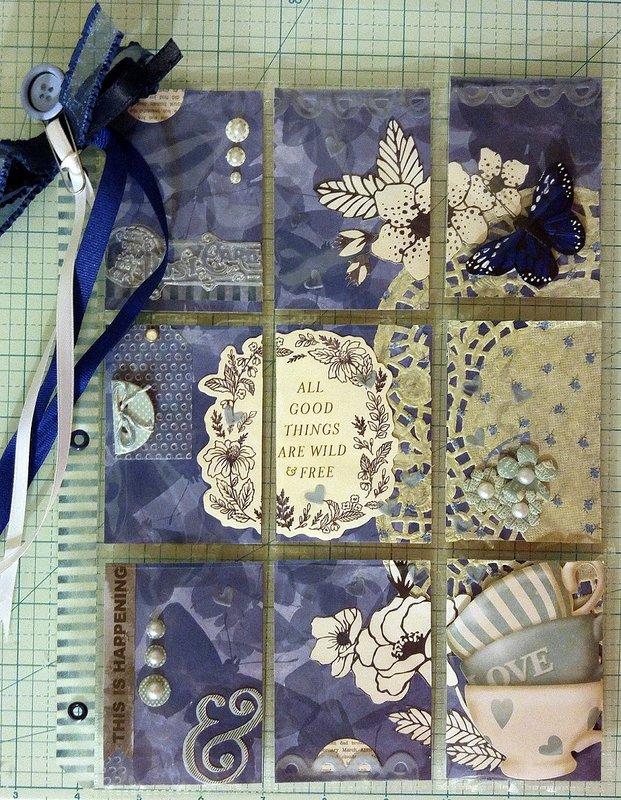 """""""Blue"""" Pocket Letter"""
