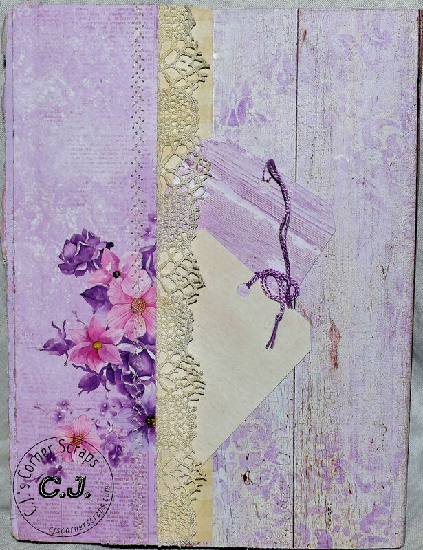 Altered Composition Book - ReneaBouquet Swap!