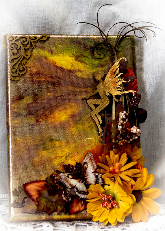 Autumn Fairy (ReneaBouquet October Canvas Swap)
