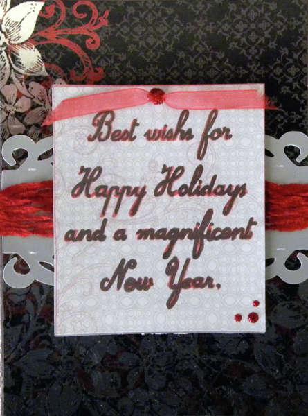 Happy Holidays / New Year Card