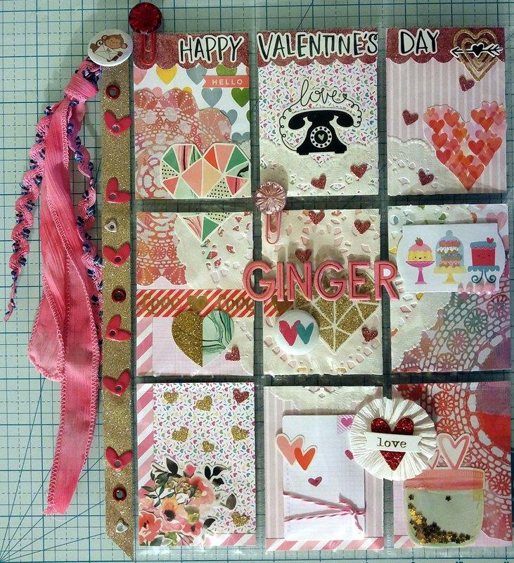 Valentine Pocket Letter for Ginger!