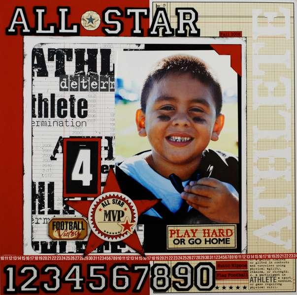 """All Star Athlete"""