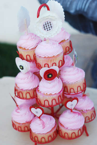 Love {Notes} Valentine Cupcake Toppers