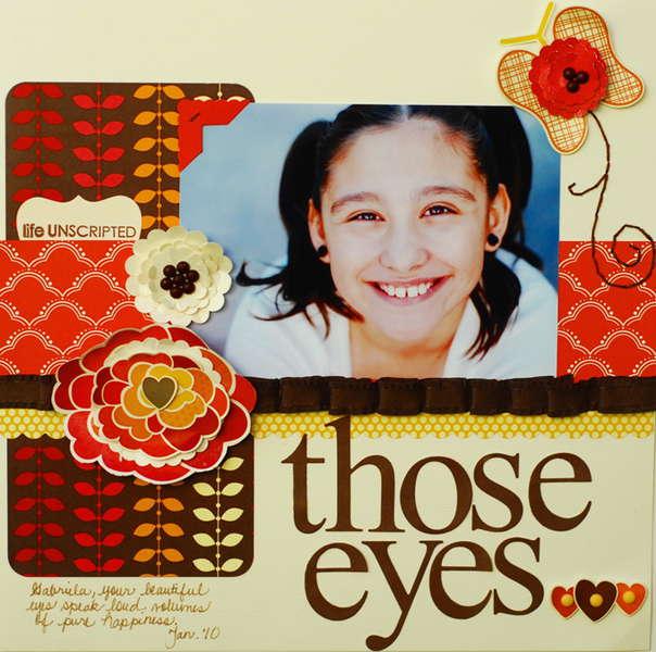 """those eyes..."" Pebbles DT"