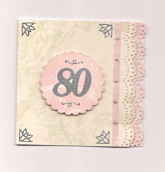 4x4 Anna Griffin Birthday