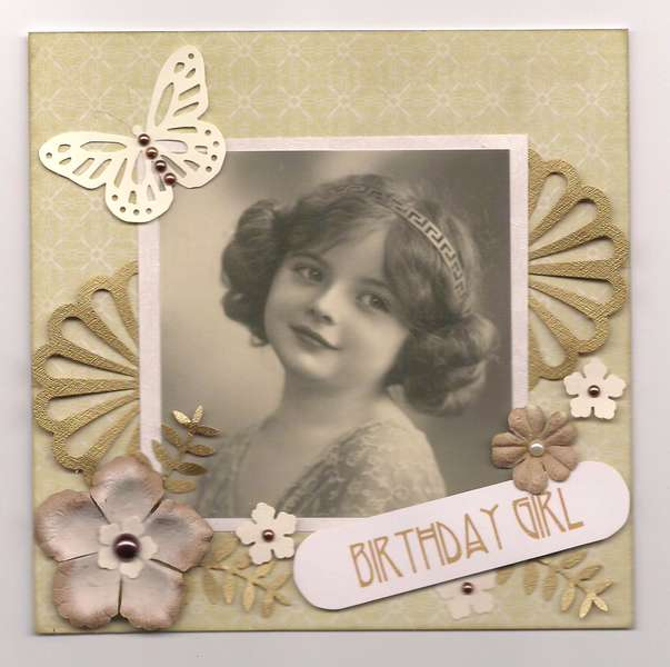 Gold Deco Birthday