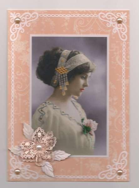 Peach Bride