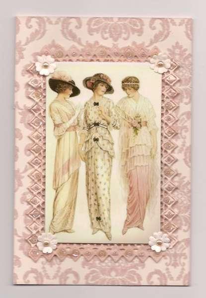 Peach Edwardian Trio
