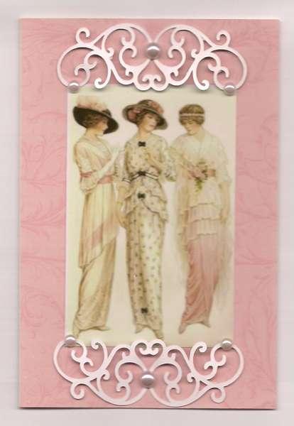 Pink Edwardian