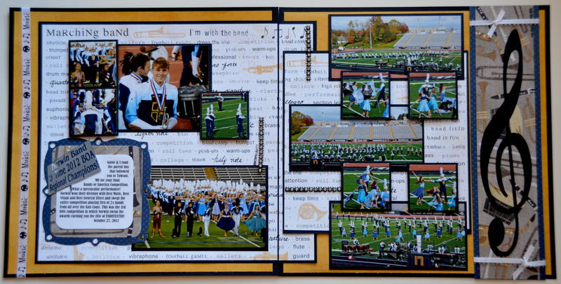 Marching Band Towson 2012