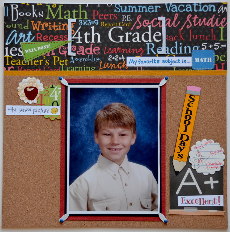 4th Grade *Die Cuts With A View Grade School*