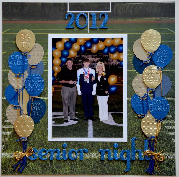 Senior Night 2012 *Scrappin Sports & More*