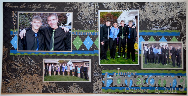 Homecoming 2011 *Die Cuts With A View High School*