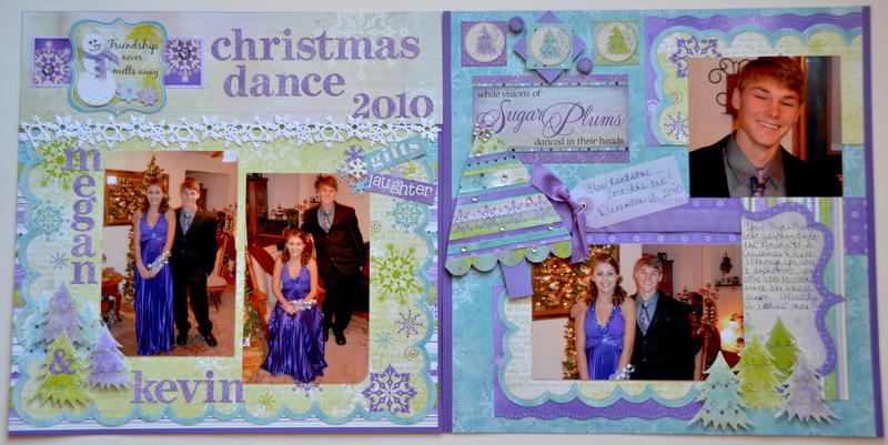 Christmas Dance 2010 *Bo Bunny Winter Joy*