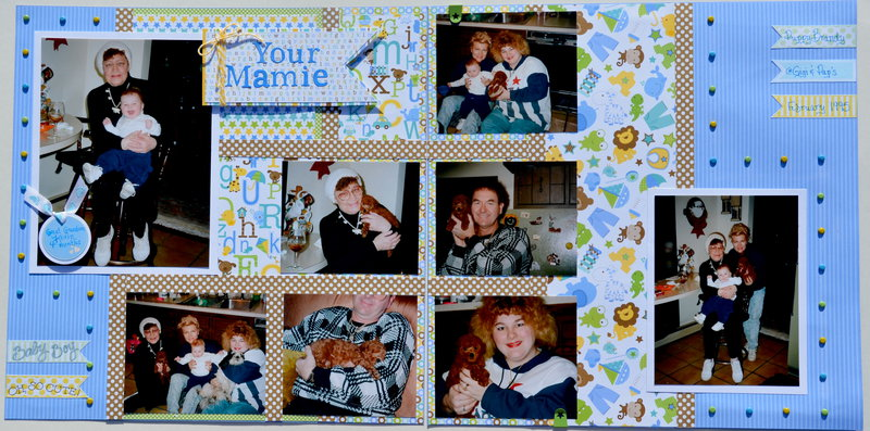 Your Mamie *Doodlebug Design Snips and Snails*