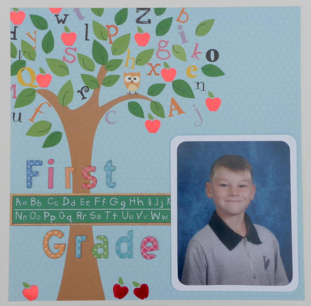 First Grade *Die Cuts With A View Grade School*