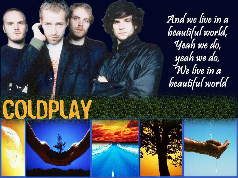 Wallpaper - Coldplay - Beautiful World