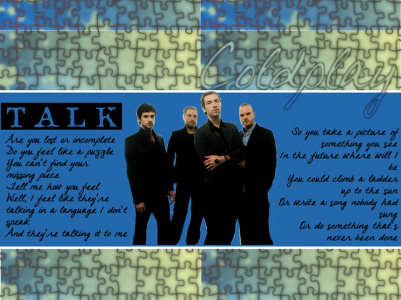 Wallpaper - Coldplay