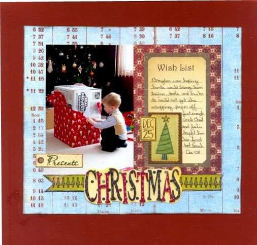 Christmas *CA Dec 09' Kit