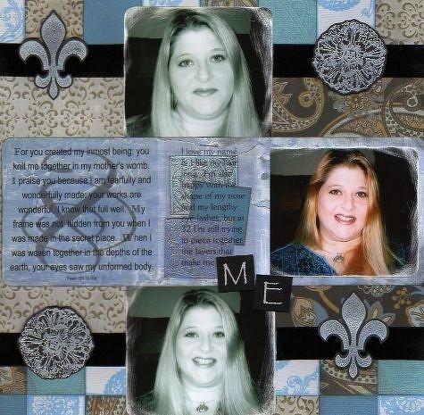 ME  (Wendy Malichio's AAM Self-Portrait Challenge!)