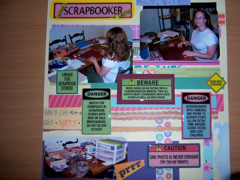 Me the scrapbooker