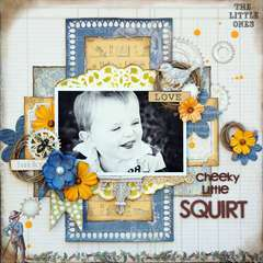Cheeky Little Squirt *New Prima*