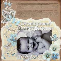 Development Milestones *Anna Griffin*