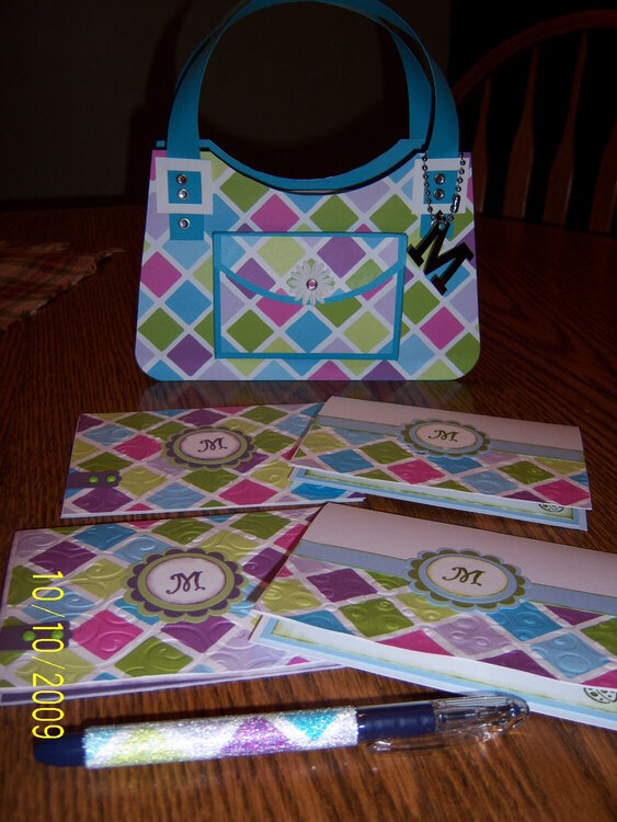 Purse/note cards