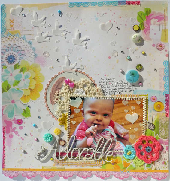 Adorable- Scrap FX DT