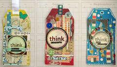Think Tags- Kreatorville Krafts
