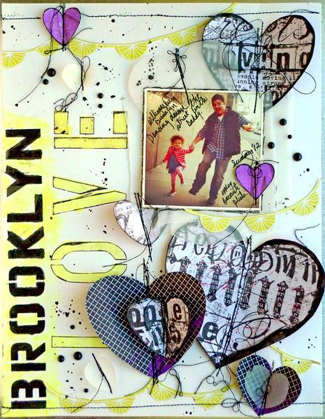 Brooklyn Love- True Xoxo Girls challenge