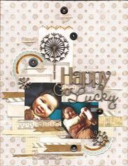 Happy Go Lucky- Scrap FX DT