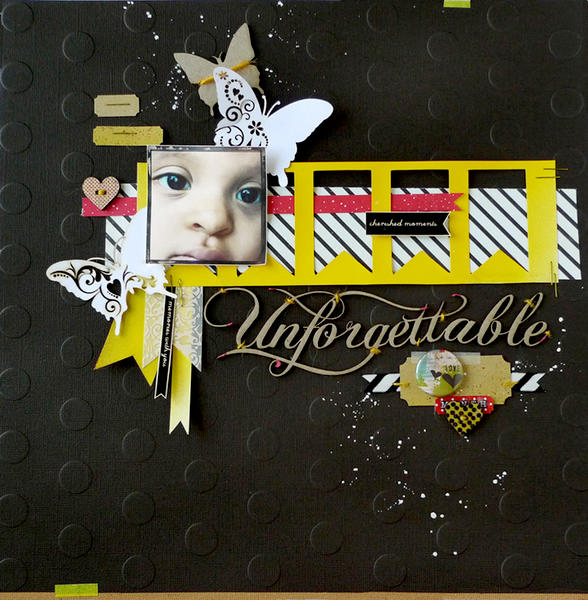 Scrap Fx Technique Blog Hop 2013
