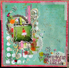 From Little Things, Big Things Grow- Scrap FX DT
