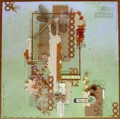 Scrap Fx Earth Day 2012 page