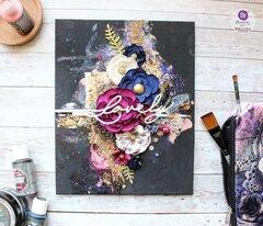 Finnabair Fall 2020 Mixed Media Canvas by Mallika Kejriwal