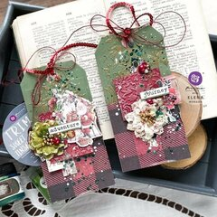 Christmas in the Country Tags by Elena Morgun