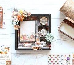 Diamond Collection Shadow Box by Mallika Kejriwal